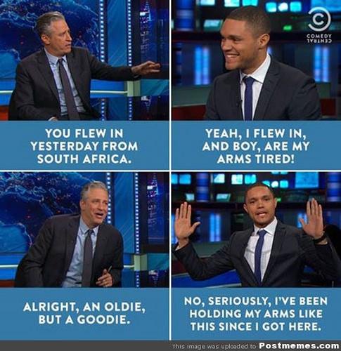 Trevor Noah On The Daily Show