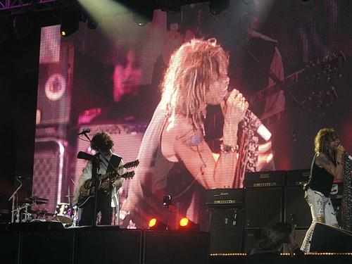 Aerosmith live in Hyde Park, London