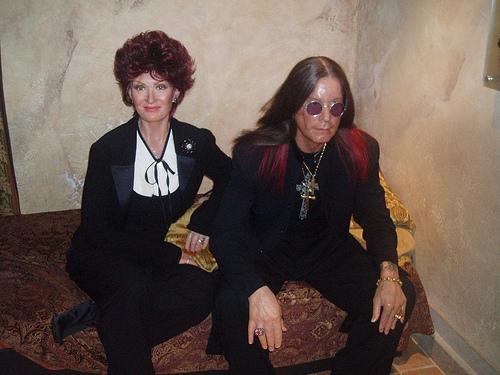 Sharon & Ozzie Osbourne: Madame Tussaud's, New York