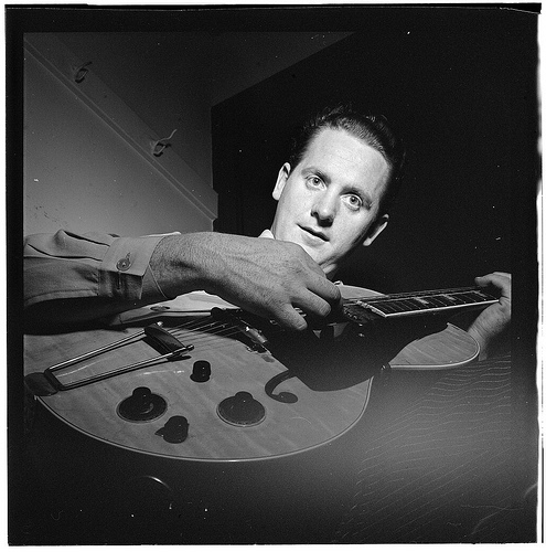 [Portrait of Les Paul, New York, N.Y.(?), ca. Jan. 1947] (LOC)