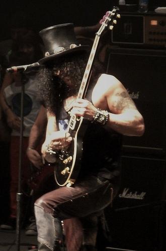 Slash en Chile 2011