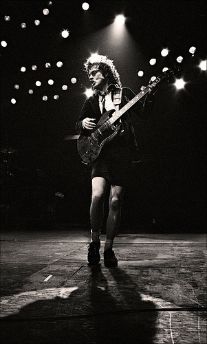 AC/DC - Angus Young - Manchester Apollo - 1982