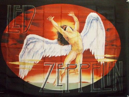 Led Zeppelin Swan Song Banner