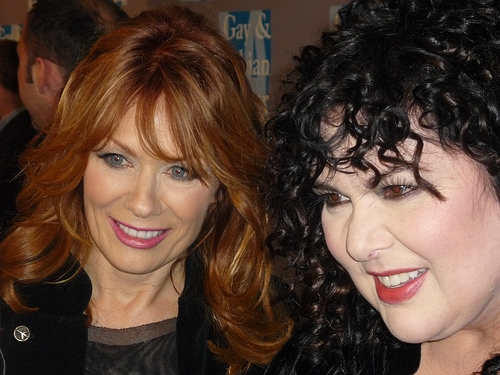 Nancy Wilson and Ann Wilson of Heart