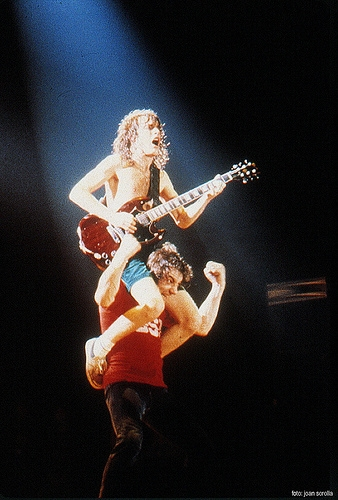 Angus Young i Brian Johnson (AC/DC)