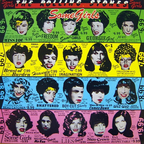 some girls - the rolling stones 1978