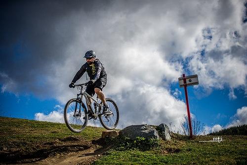 Single Track Mountain Bike