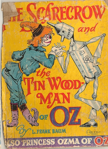 1914 Wizard of Oz Kids Book