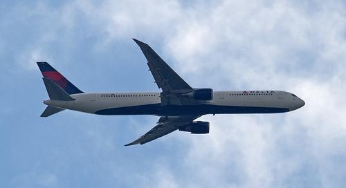 Delta Boeing 767 N834MH