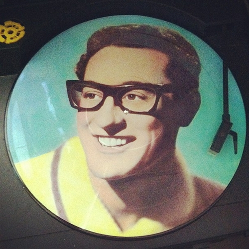 You know my love will not fade away - Buddy Holly #vinyl