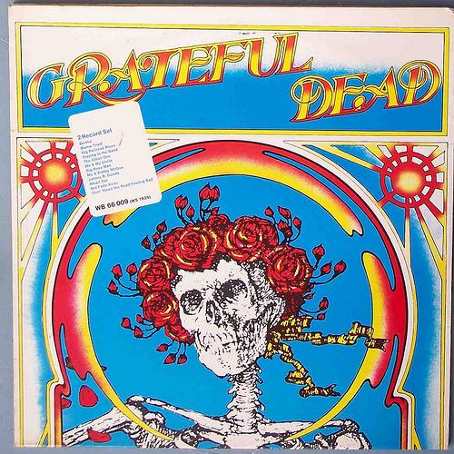 grateful dead- grateful dead (Skull & Roses)