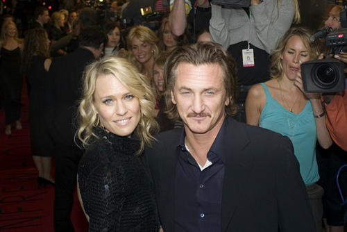 Sean and Robin Wright Penn, All the King's Men Premiere