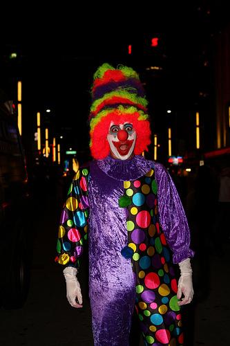 Halloween on Granville Street