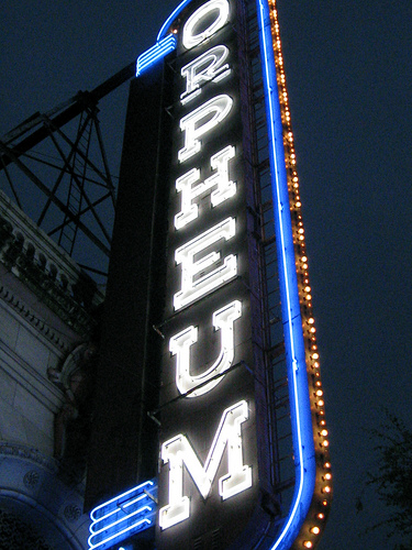 Orpheum sign