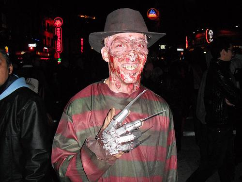 Halloween 2009 - Granville Street - Vancouver